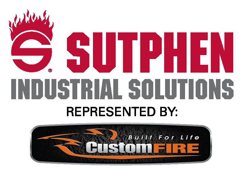 SUTPHEN INDUSTRIAL SOLUTIONS CUSTOM FIRE Logo